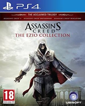 Ezio Collection PS4 boxart