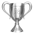 PlayStation silver trophy