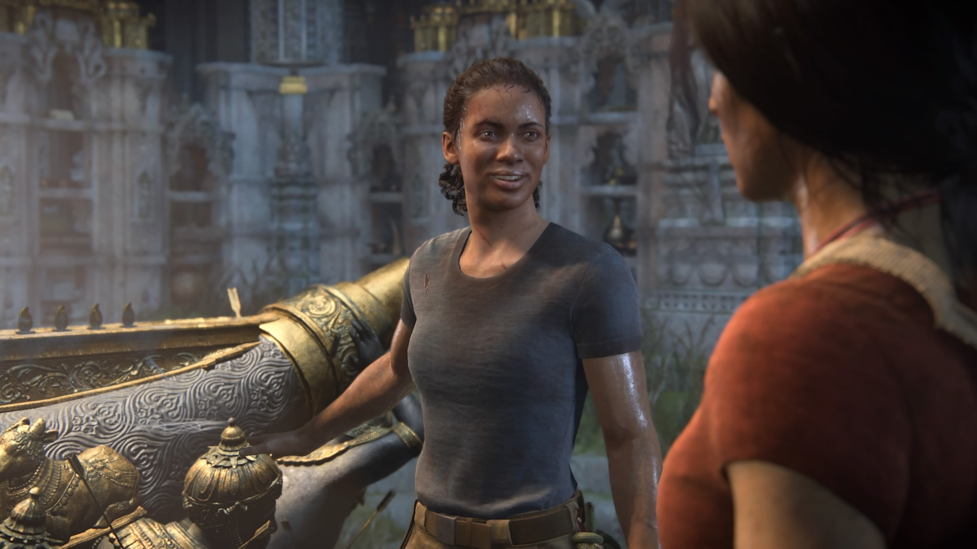 Chloe Frazer and Nadine Ross