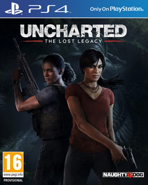 Uncharted: The Lost Legacy PS4 cover
